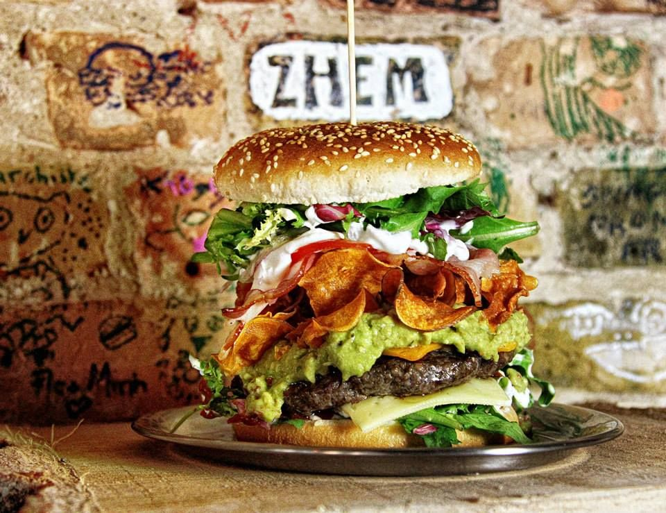 Most delicious burgers in the world